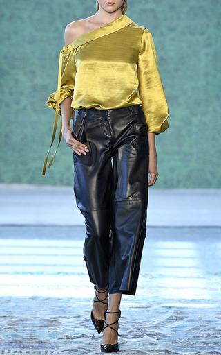 Rimini One Shoulder Blouse by HELLESSY for Preorder on Moda Operandi