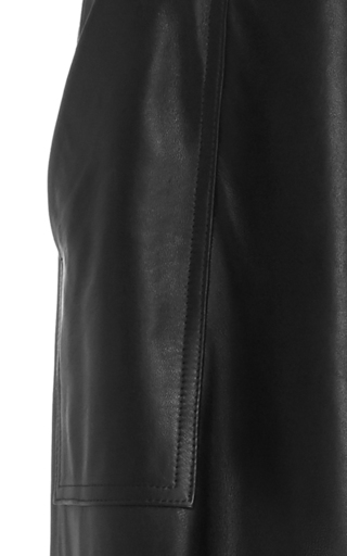 Nachmani Cropped Leather Pants by HELLESSY for Preorder on Moda Operandi