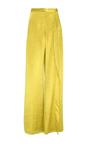 Alto Gold Wide Leg Pants by HELLESSY for Preorder on Moda Operandi
