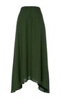Melo Asymmetric Midi Skirt by HELLESSY for Preorder on Moda Operandi