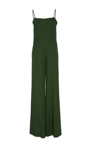 Lapo Camisole Wide Leg Jumpsuit by HELLESSY for Preorder on Moda Operandi