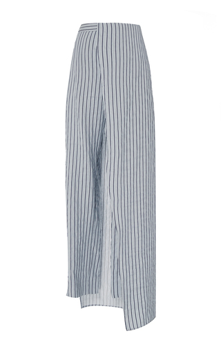 Medium hellessy blue cefalu cigarette skirt pants