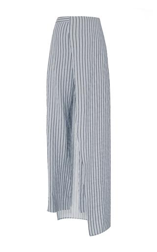 Medium hellessy blue cefalu cigarette skirt pants