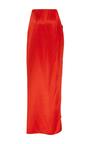 Cefalu Blush Cigarette Skirt Pants by HELLESSY for Preorder on Moda Operandi