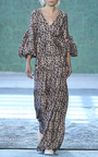 Ravello V Neck Blouse by HELLESSY for Preorder on Moda Operandi
