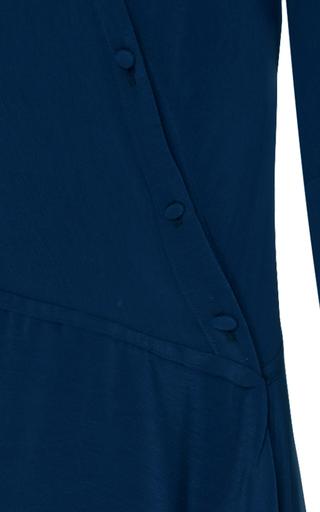 Messina Lapis Asymmetric Shirt Dress by HELLESSY for Preorder on Moda Operandi
