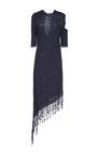 Portofino Silk Scallop Motif Dress by HELLESSY for Preorder on Moda Operandi