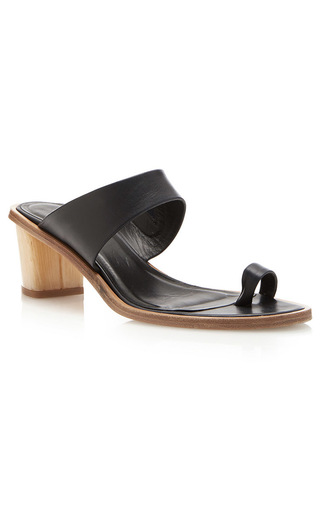 Medium tibi navy oliva sandals