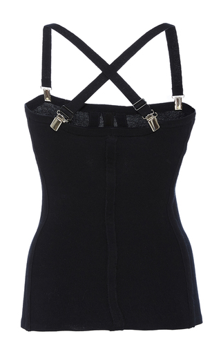 Suspender Sweater Corset by TIBI for Preorder on Moda Operandi