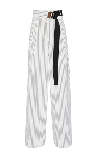 Medium tibi stripe cecil striped pants