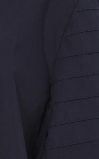 Poplin Sculpted Sleeve Top by TIBI for Preorder on Moda Operandi