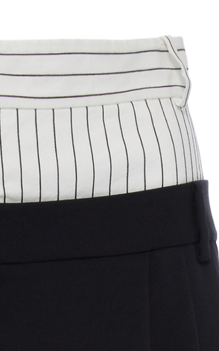 Cecil Double Waist Pants by TIBI for Preorder on Moda Operandi