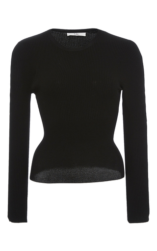 Corset Waisted Pullover by TIBI for Preorder on Moda Operandi