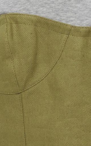 Peplum Corset Top by TIBI for Preorder on Moda Operandi