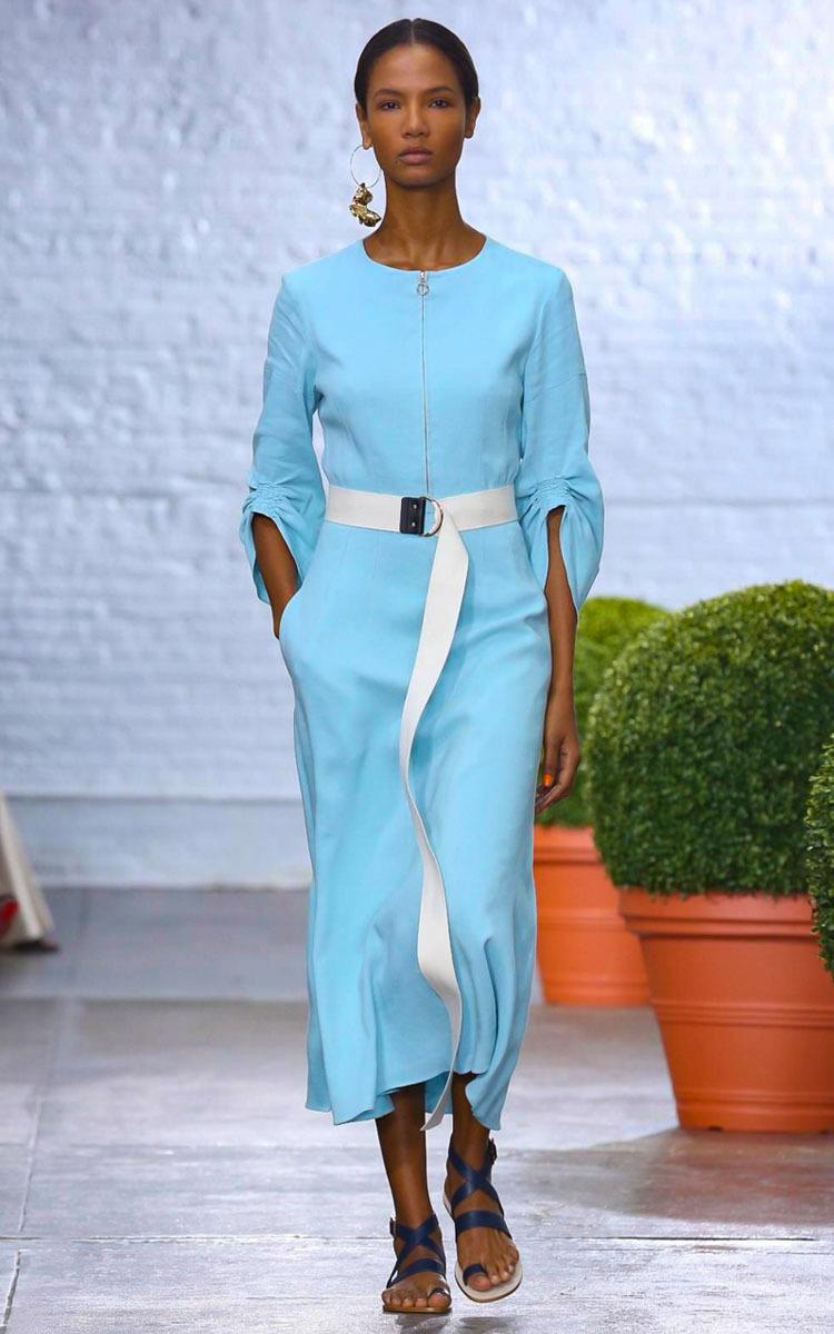 905a41105e Marta Full Sleeve Midi Dress by Tibi