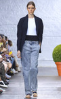 Slouch Acid Wash Jeans by TIBI for Preorder on Moda Operandi
