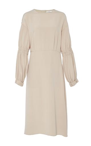 Medium tibi nude balloon sleeve dress