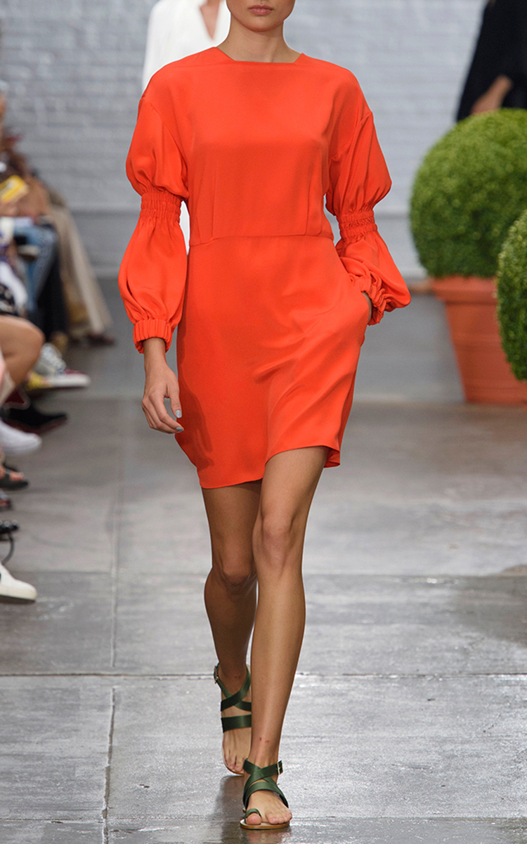9d2259245dc0 Short Balloon Sleeve Dress by Tibi | Moda Operandi