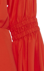 Short Balloon Sleeve Dress by TIBI for Preorder on Moda Operandi