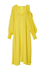 Edwardian Open Shoulder Dress by TIBI for Preorder on Moda Operandi
