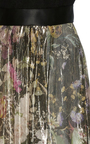 Floral Metallic Lamé Gown by MONIQUE LHUILLIER for Preorder on Moda Operandi