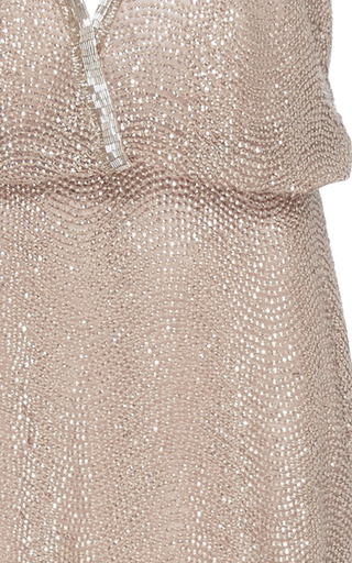 Embroidered Halter Gown by MONIQUE LHUILLIER for Preorder on Moda Operandi