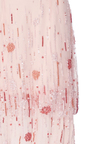 Embroidered Gown With Cut Out Shoulders by MONIQUE LHUILLIER for Preorder on Moda Operandi