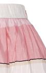 Summer Stripe Midi Skirt by MONIQUE LHUILLIER for Preorder on Moda Operandi