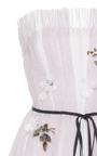 Seersucker Organza Strapless Gown by MONIQUE LHUILLIER for Preorder on Moda Operandi