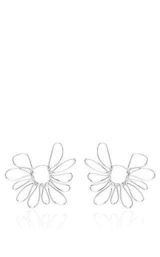 Daisy Hoops by BEAUFILLE for Preorder on Moda Operandi