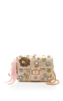 Floral Small Bianca Shoulder Bag by MONIQUE LHUILLIER for Preorder on Moda Operandi