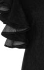 Beta Ruffled Denim Blouse by BEAUFILLE for Preorder on Moda Operandi