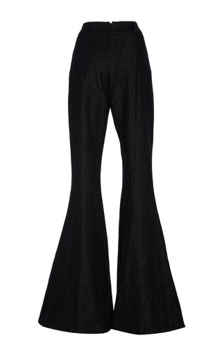 Navi Flared Denim Trousers by BEAUFILLE for Preorder on Moda Operandi