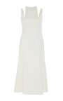 Libra Flare Midi Dress by BEAUFILLE for Preorder on Moda Operandi