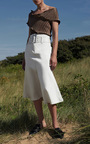 Cupid Pleated Wave Top by BEAUFILLE for Preorder on Moda Operandi