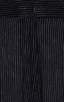 Gatria Wide Leg Pinstripe Trousers by BEAUFILLE for Preorder on Moda Operandi