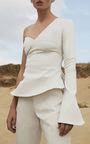 Kuma Single Sleeve Blouse by BEAUFILLE for Preorder on Moda Operandi