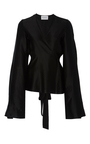 Capella Wrap Blouse by BEAUFILLE for Preorder on Moda Operandi