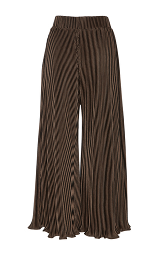 Thebe Cropped Pleated Pants by BEAUFILLE for Preorder on Moda Operandi