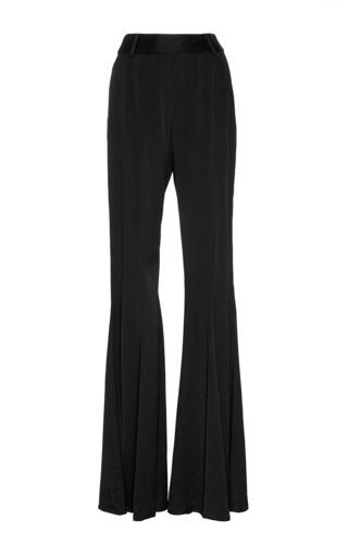 Medium beaufille black black navi flared trousers
