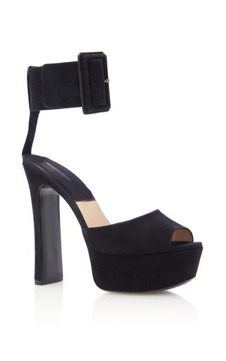 Medium michael kors black tatiana runway sandal