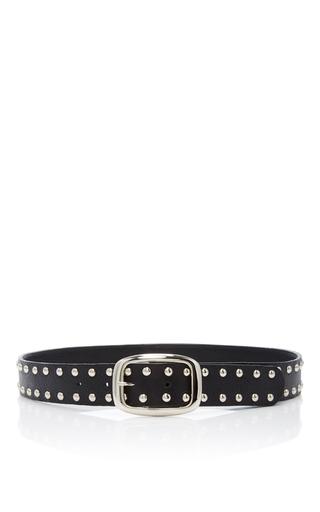 Medium rodarte black studded leather belt