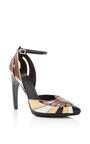 Leather Pointed Toe Heel by RODARTE for Preorder on Moda Operandi