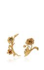 Brass Floral Ear Cuffs by RODARTE for Preorder on Moda Operandi