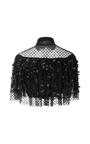 Polka Dot Tulle High Neck Cropped Blouse by RODARTE for Preorder on Moda Operandi