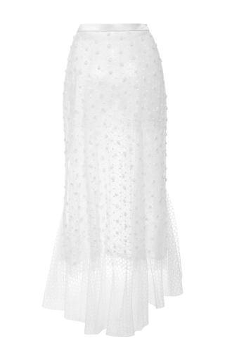 Tulle Polka Dot And Honeycomb Skirt by RODARTE for Preorder on Moda Operandi