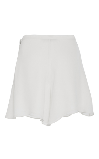 Double Georgette Evening Short by SALLY LAPOINTE for Preorder on Moda Operandi