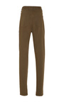 Stretch Cotton Twill High Waisted Pant by SALLY LAPOINTE for Preorder on Moda Operandi