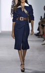 Slashed Coat Dress by MICHAEL KORS COLLECTION for Preorder on Moda Operandi