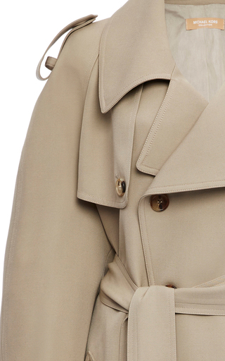 Double Breasted Trench Coat by MICHAEL KORS COLLECTION for Preorder on Moda Operandi